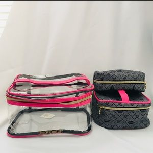 NWOT Juicy Couture Travel Cosmetic Toiletry Bag